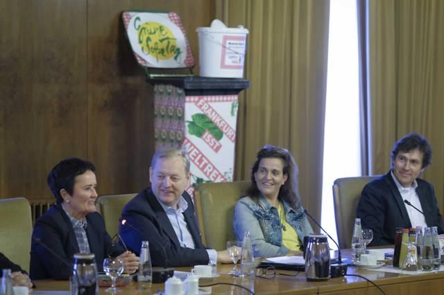 Grüne Soße Tag 2019 - Pressekonferenz im Römer
