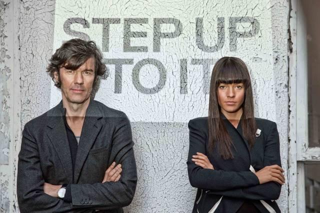 Stefan Sagmeister und Jessica Walsh