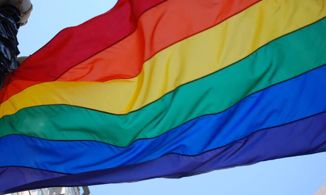 Regenbogenflagge / CSD Saar