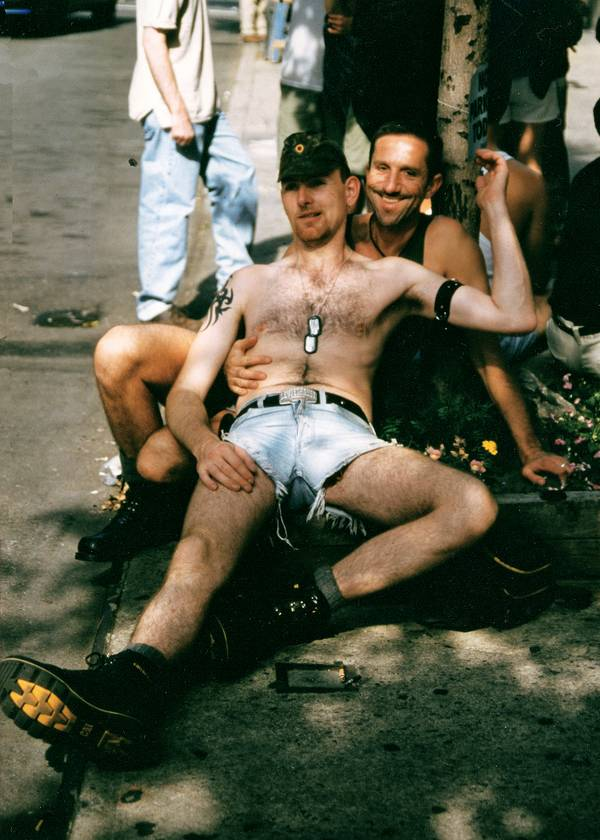 Rinaldo & Fox, Gay Pride NYC 1999.jpg