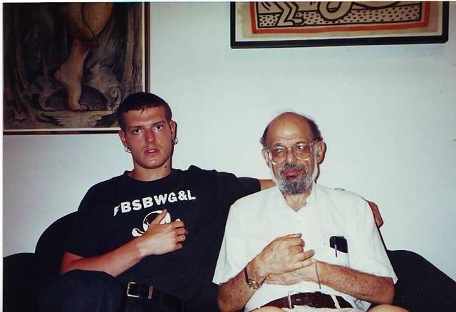 Slava Mogutin und Allen Ginsberg