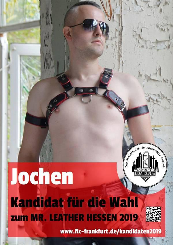 Mr Leather Hessen Kandidat Jochen