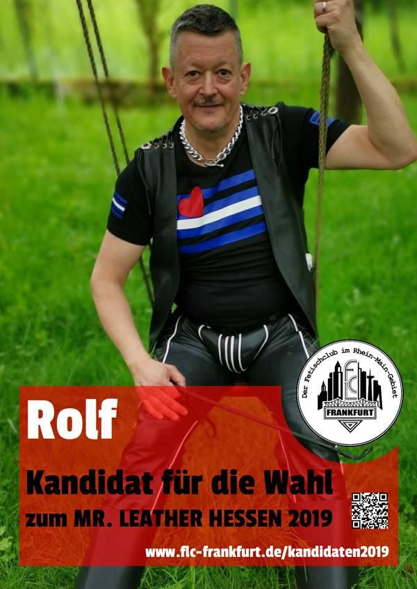 Mr Leather Hessen Kandidat Rolf