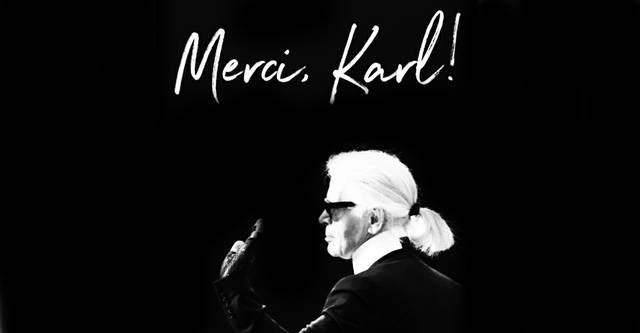 Merci, Karl! Lagerfeld
