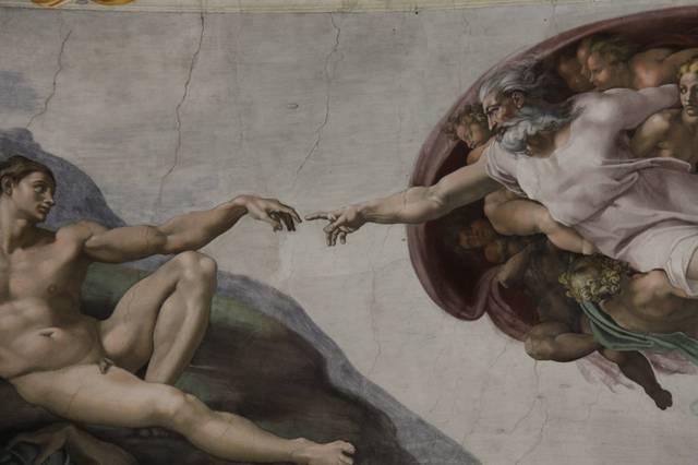 Die Schöpfung des Adam