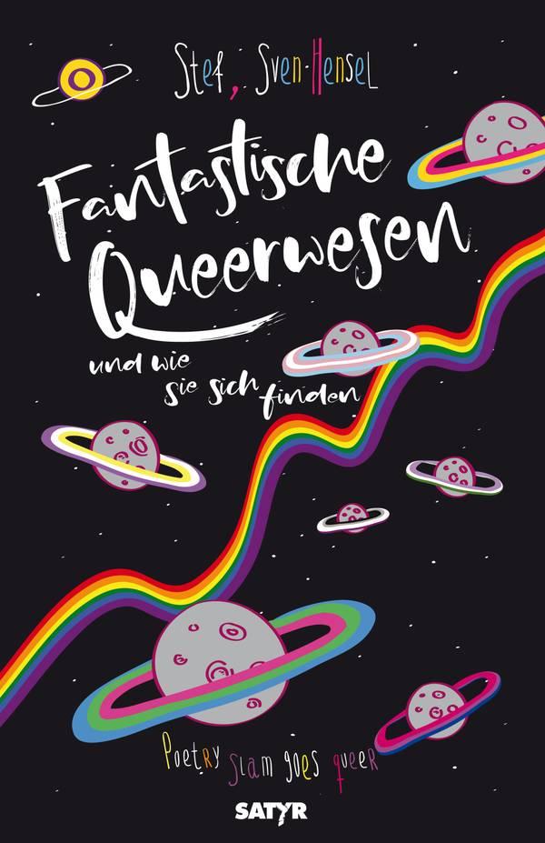 """Buch """"Fantastische Queerwesen und wie sie sich finden"""""""