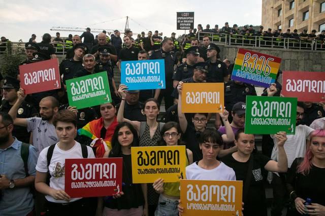Tiflis Pride Protest