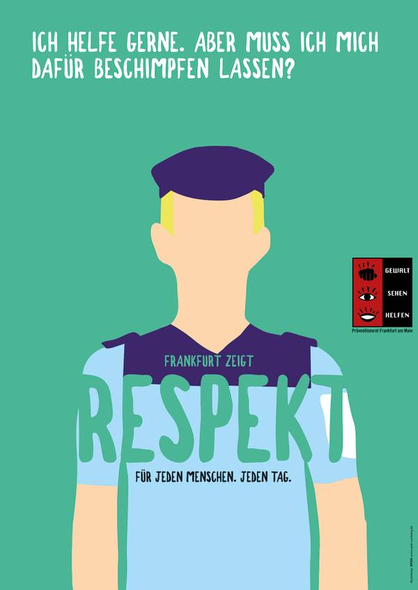 Respekt - Plakat