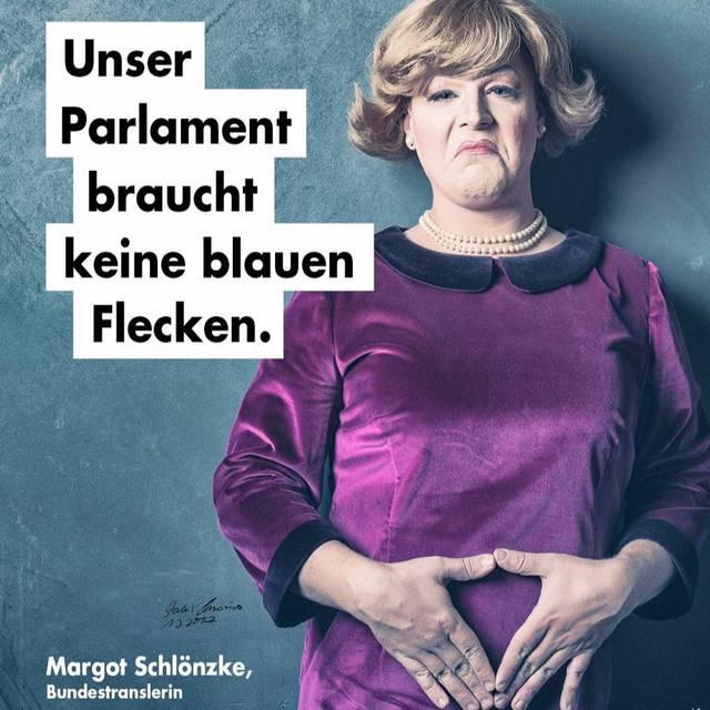 Margot Travestie für Deutschland
