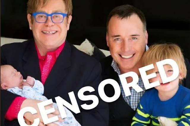 Elton John Censored Happiness