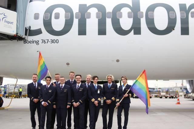 Condor Pride Flight