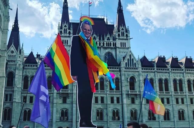 Budapest Bürgermeister Pride