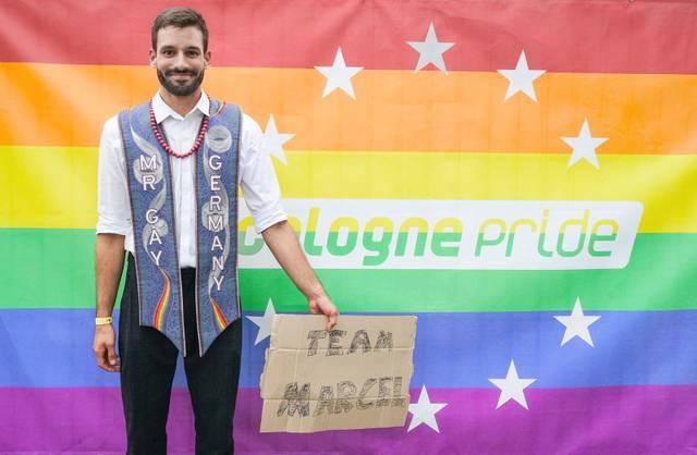 Marcel Mr Gay Germany