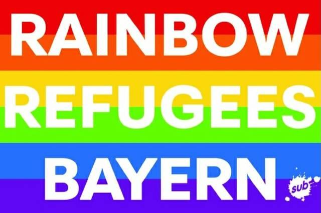 Rainbow Refugees Bayern_Logo