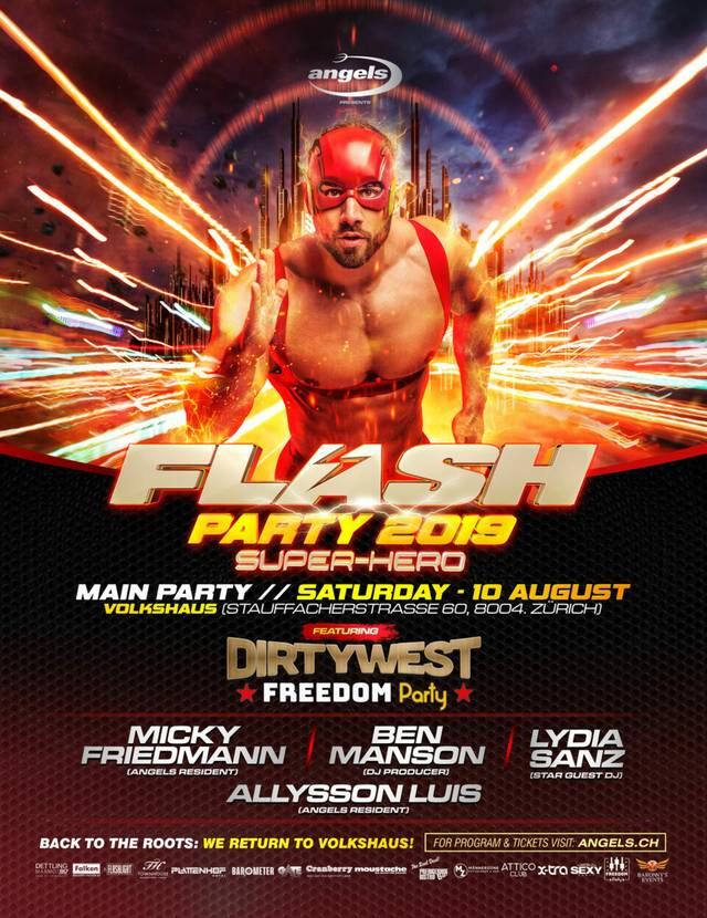 Flash Party Flyer