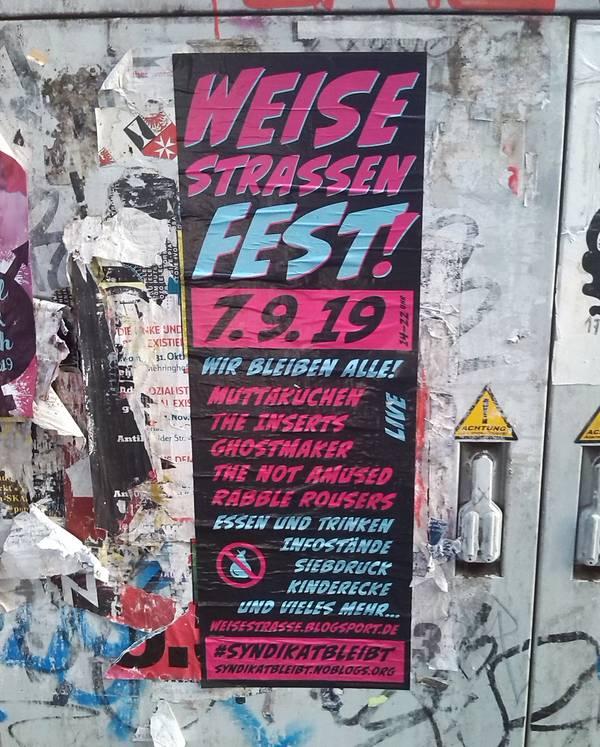 Weisestraßenfest
