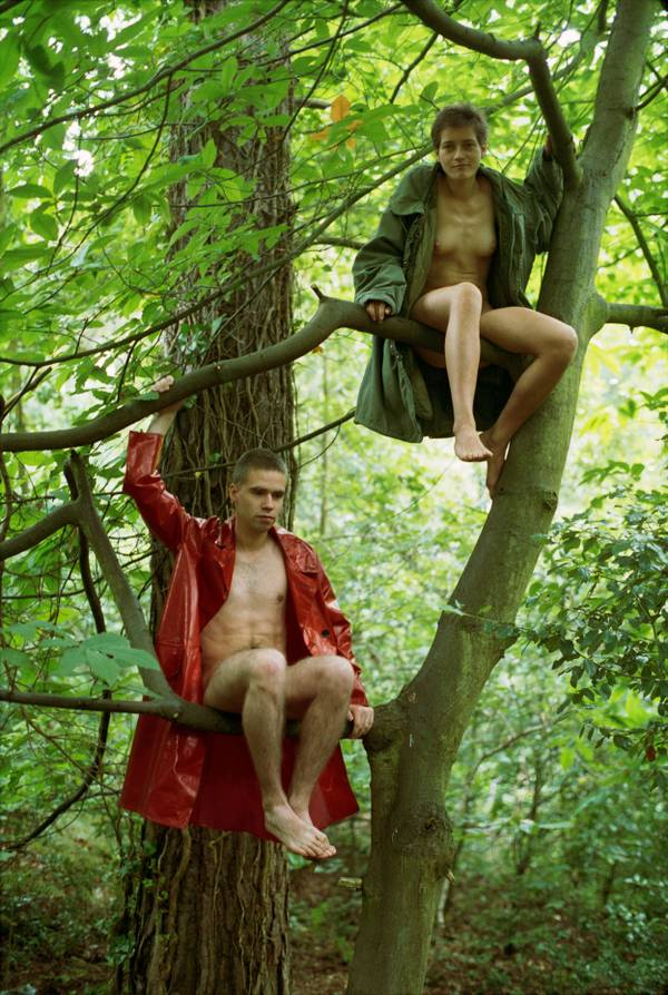 Lutz & Alex sitting in the trees