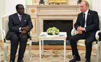 Robert Mugabe und Wladimir Putin
