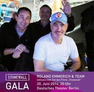 Foto: CSD-BERLIN E.V. / Michael Fossat, Marc Frydman & Roland Emmerich