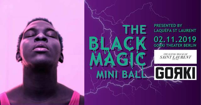 Black Magic Mini Ball (BMMB) by LaQéfa St. Laurent