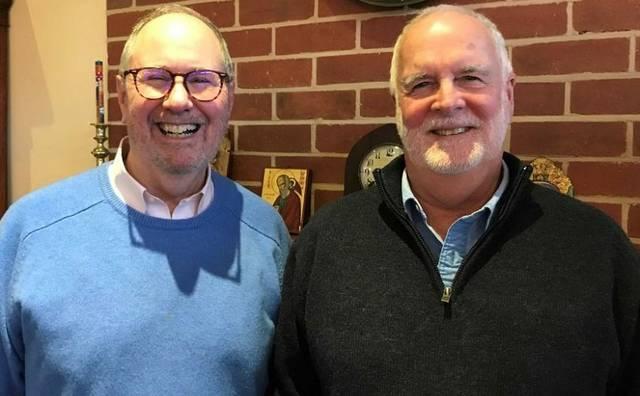 John Davis  und Rob Whalley