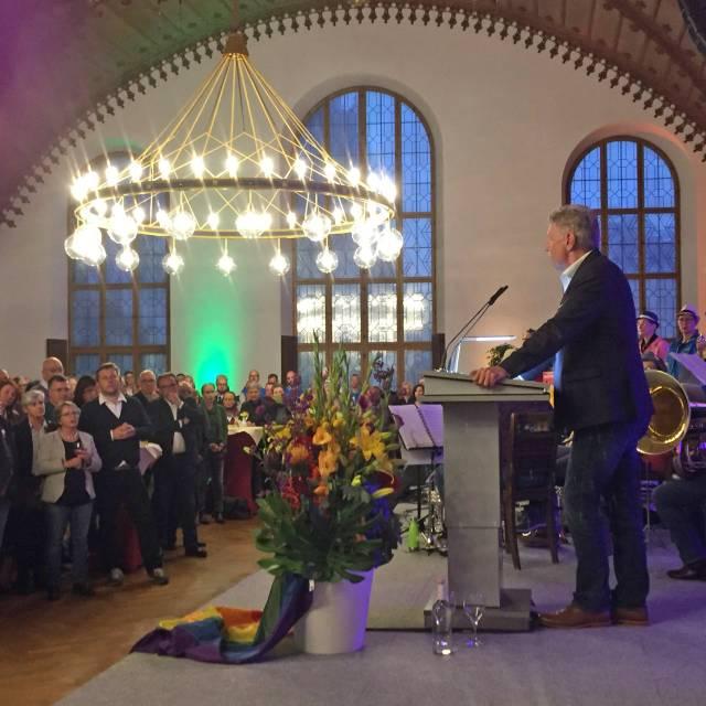 OB-Empfang im Alten Rathaus