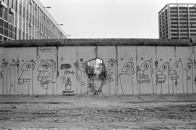 Mauer, Wiedervereinigung