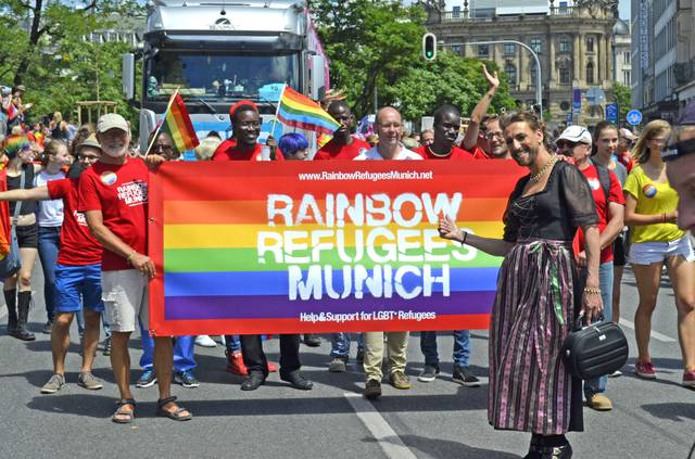 Rainbow Refugges@CSD Muenchen