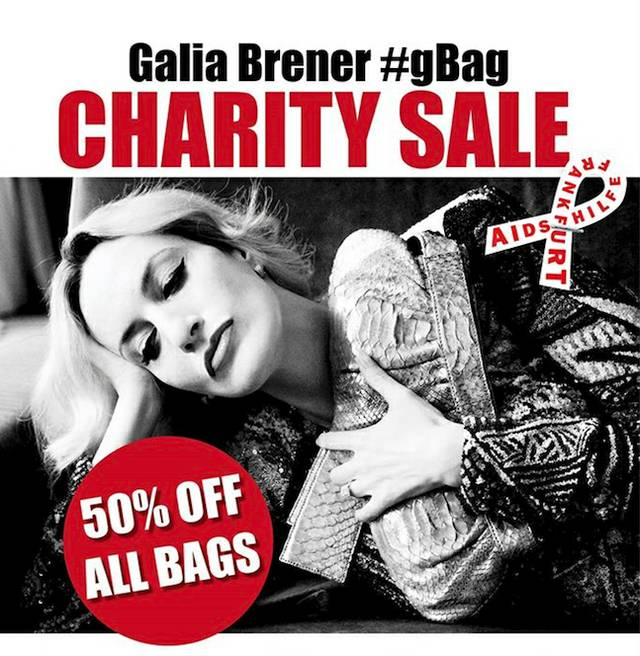 Galia Brener Charity Sale