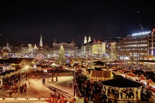 Weihnachtsmarkt Zürich 2015