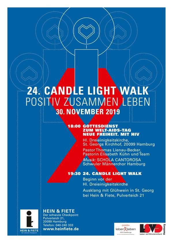 Candle Light Walk