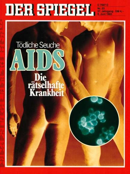 DER SPIEGEL Aids 1983