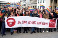 Kiss-in Zürich