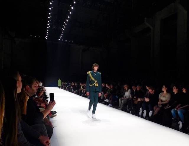 Fashion Week Modenschau Kilian Kerner