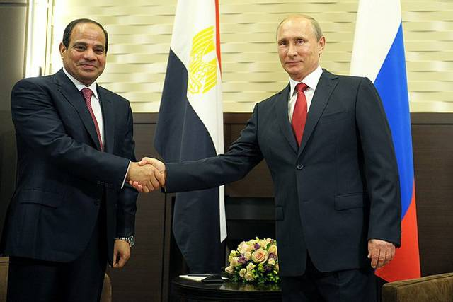 Putin und Al-Sisi