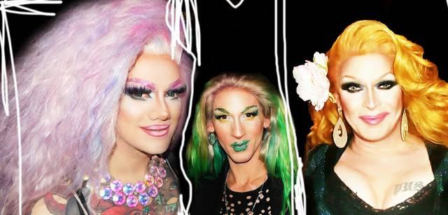 Stella, Absinthia und Barbie
