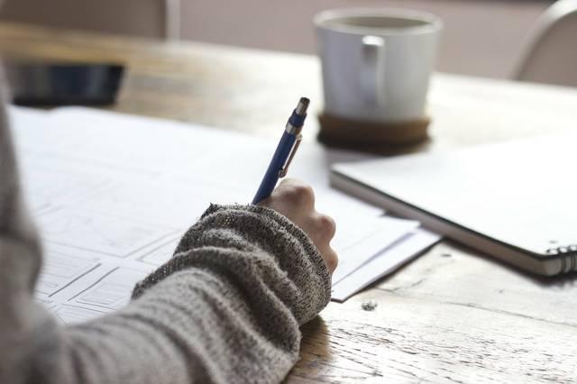 Papierkram Schreiben Unterlagen