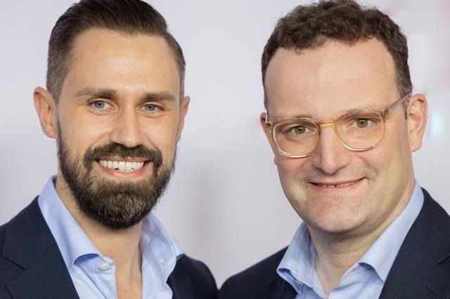 Daniel Funke und Jens Spahn