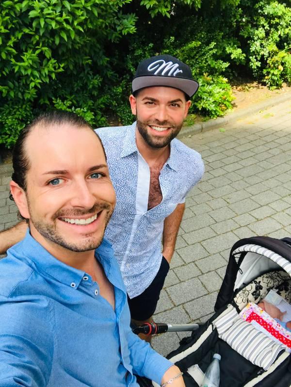 Daniel (26) und Roman Nawrot (34)