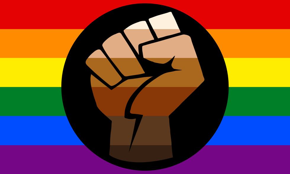 #blacklivesmatter / #queerlivesmatter