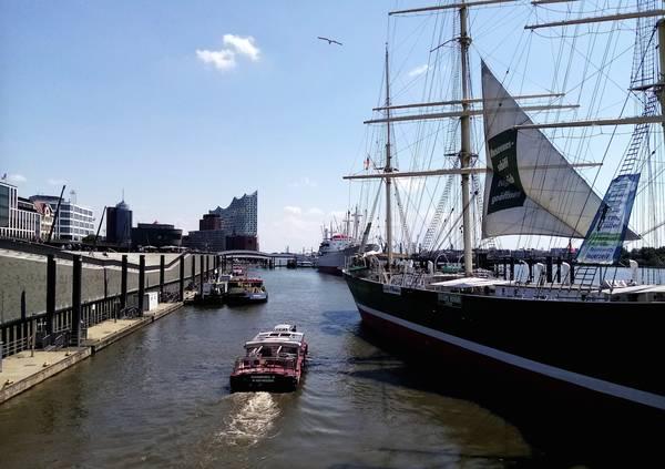 Hamburg, Hafen, Schiffe