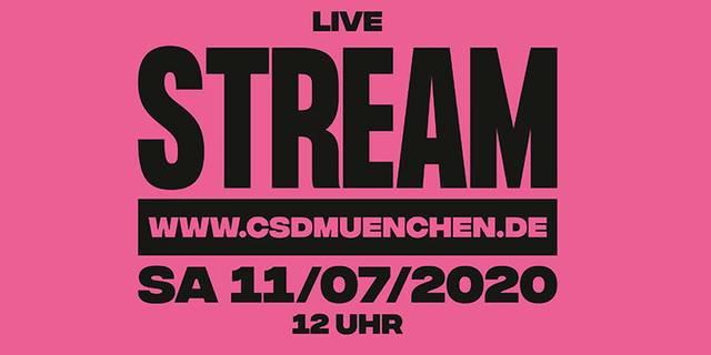 CSD München_Livetream_logo