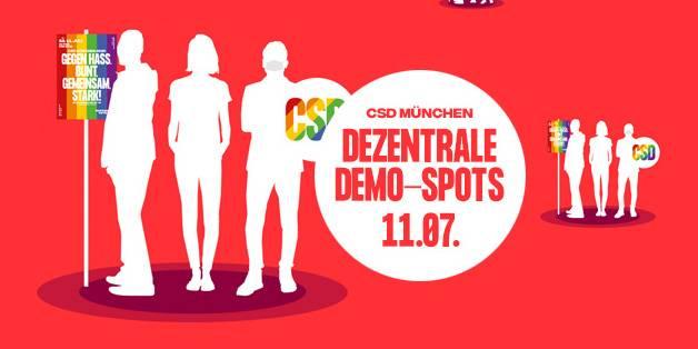CSD Muenchen_Demospots