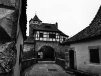 Rothenburg, Franken, Burg