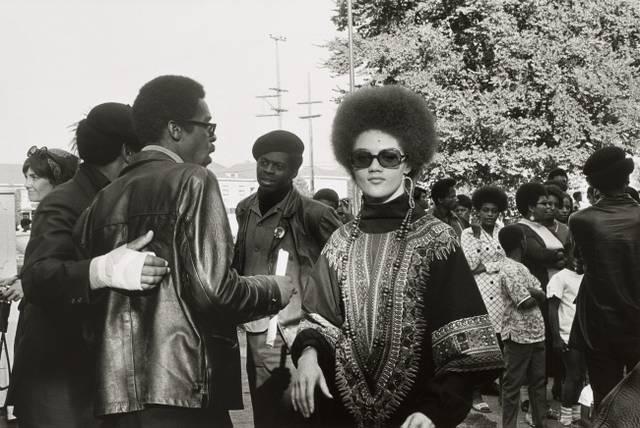 Kathleen Cleaver und Black Panthers