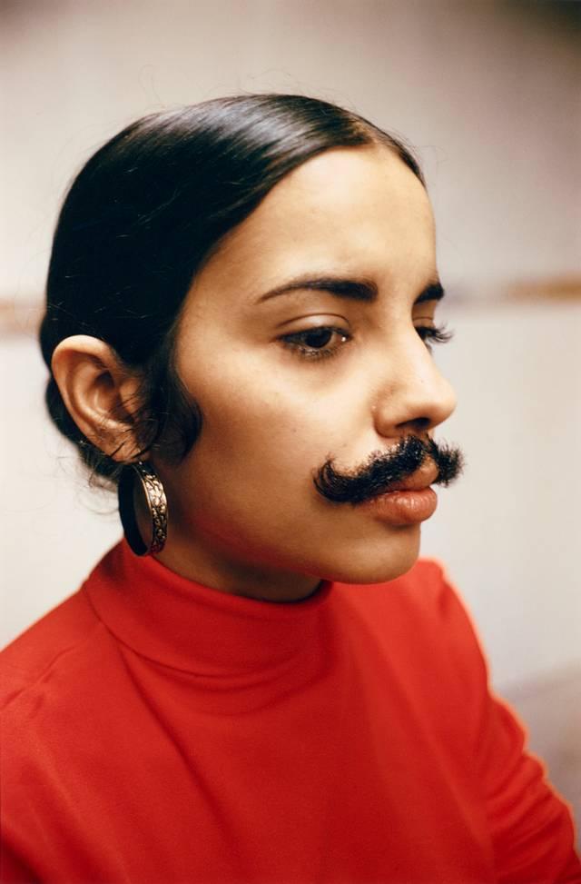 Ana Mendieta: Ohne Titel (Facial Hair Transplants)