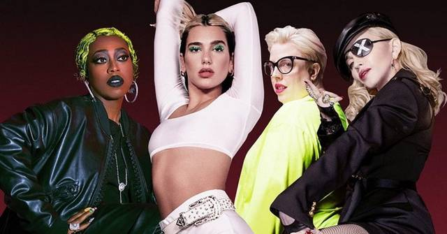 Dua Lipa, Missy Elliott und Madonna