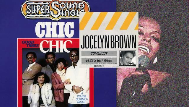 Chic, Jocelyn Brown und Diana Ross