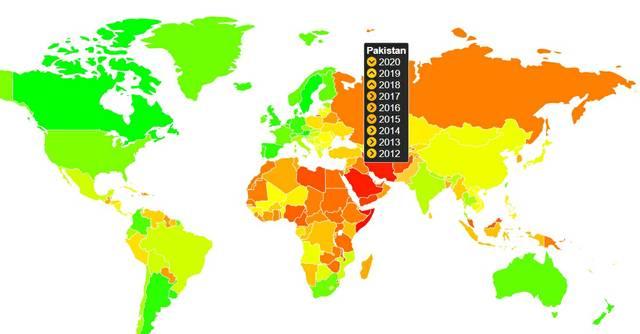 Pakistan Spartacus Gay Travel Index