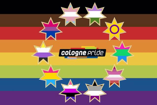 Cologne Pride Fahne